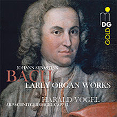 Bach - Early Organ Works - Harald Vogel