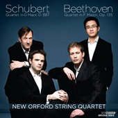 Beethoven/Schubert - New Orford String Quartet