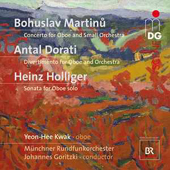 Martinu-Holliger-Dorati - Works for Oboe and Orchestra