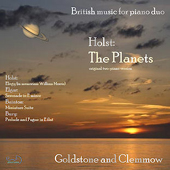GUSTAV HOLST - The Planets - Goldstone and Clemmow
