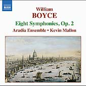 William Boyce - Eight Symphonies