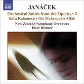 Leos Janácek - Orchestral Suites from the Operas