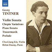 GEORG TINTNER - CHAMBER & PIANO WORKS