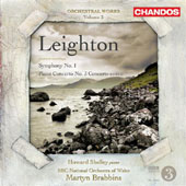 KENNETH LEIGHTON - Orchestral Works Vol. 3