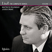 Franz Liszt - Complete Songs Vol. 1