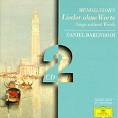 MENDELSSOHN - Songs Without Words
