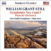 William Grant Still - Symphonies 4 & 5 - Fort Smith Symphony