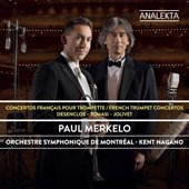 FRENCH TRUMPET CONCERTOS - Paul Merkelo