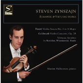 Steven Zynszajn - Romantic & Virtuoso Works